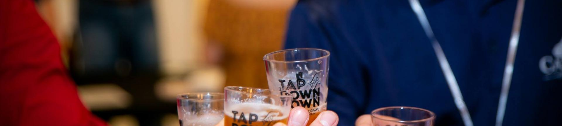 Tap into Downtown Photo by True Light Photography